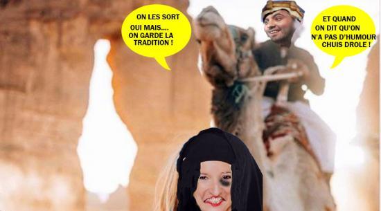 Arabie insta bellatarblonde