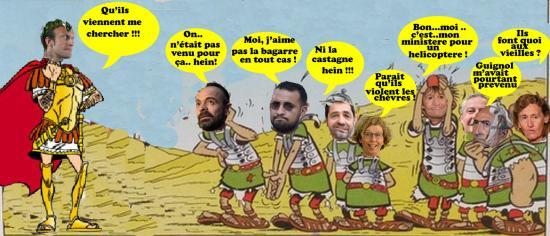 Asterix soldats cesartx