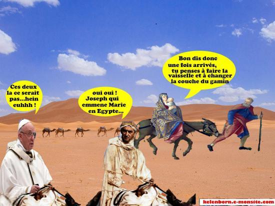 Desert dream caravane joseph marie et pape