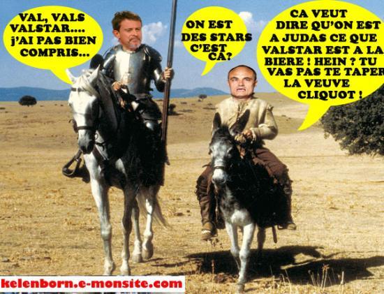Don quichotte valvals