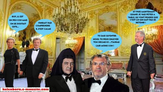 Hotel de lassay gauche caviar melenchon