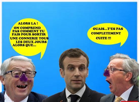 Macron juncker