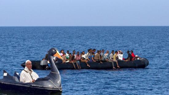 Migrants pape