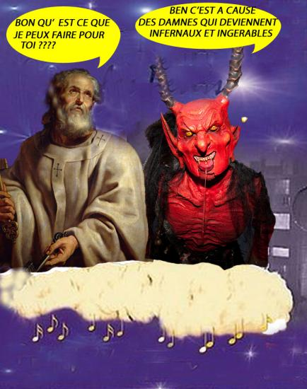 Nounours diable1