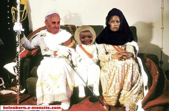 Pape stevierge jesus