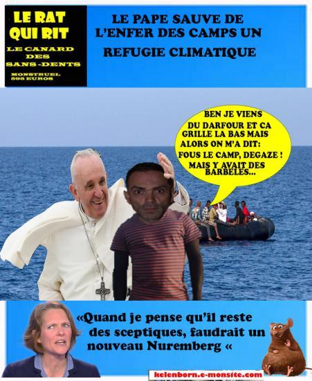 Ratkiri pape refugie