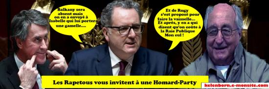 Richard ferrand homard party
