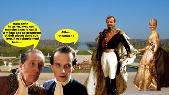 Versailles ridicule
