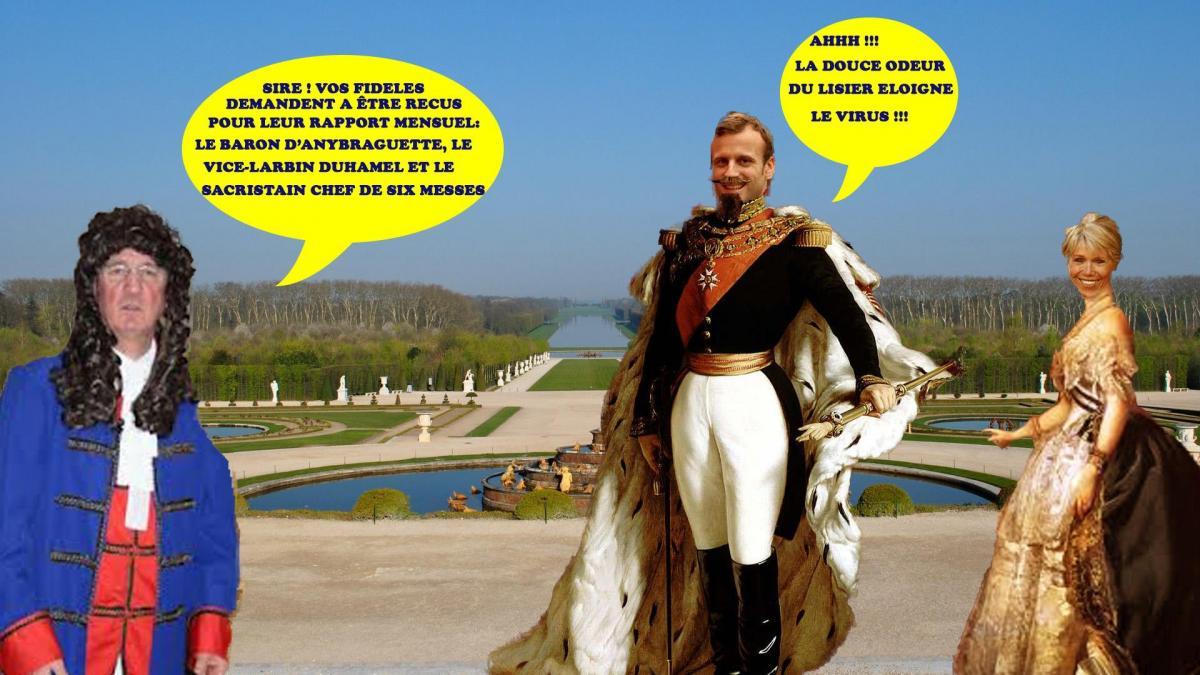 Versailles valetmacron cohn 2