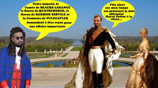 Versailles valetmacronbenalla