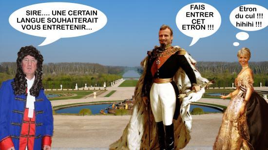 Versailles valetmacronlang